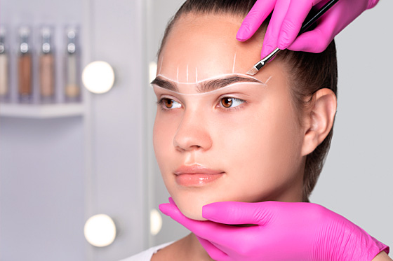 Permanent Make-up - Powder Brow | PRETTIFY - Hamburg